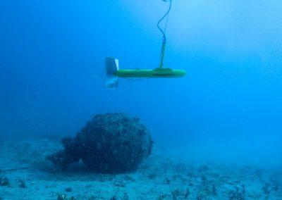 Recherche par sonar à balayage latéral