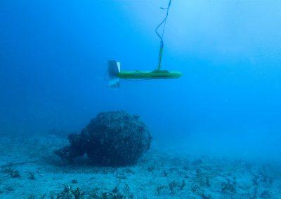 Recherche par sonar